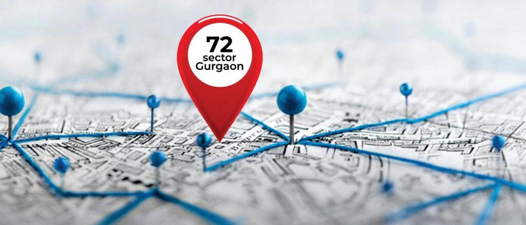 Sector 72 Gurgaon Location